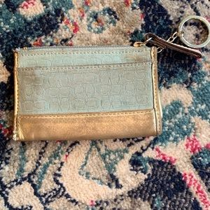 Vintage Coach coin purse and wallet